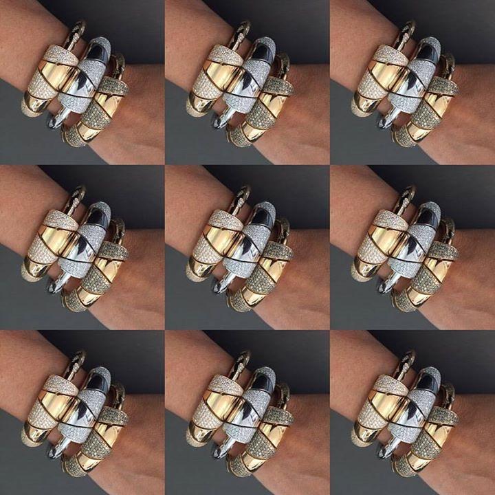 Virginiacapri#rosegold#whitegold#yellowgold#bracelets#f...