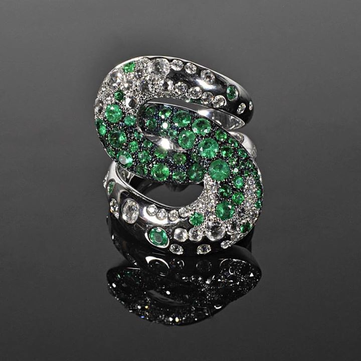 Emeralds and diamonds... What else you need...