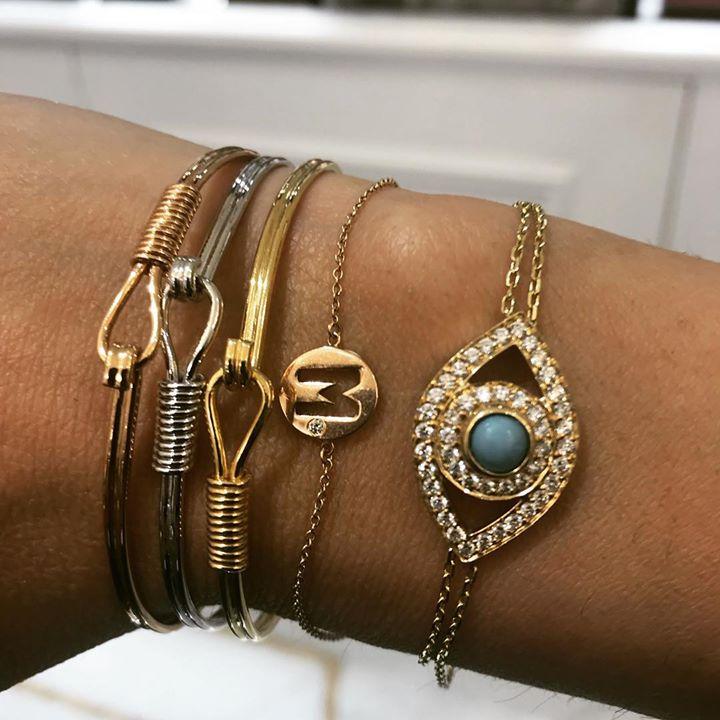 Nice bracelets...